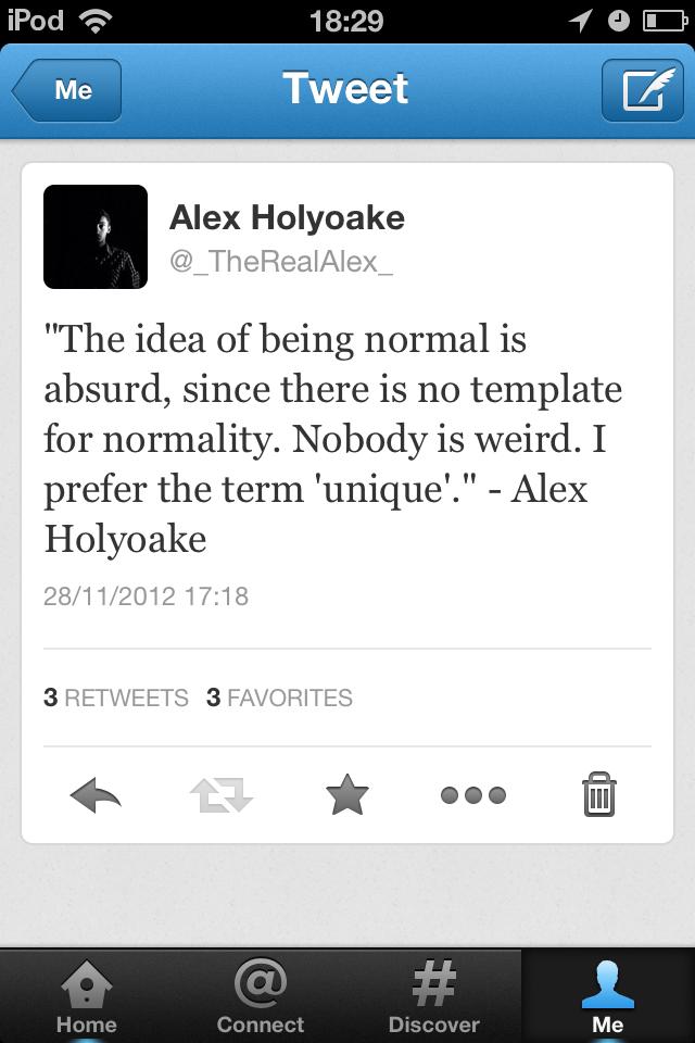 My 10,000th Tweet. Ingenious.