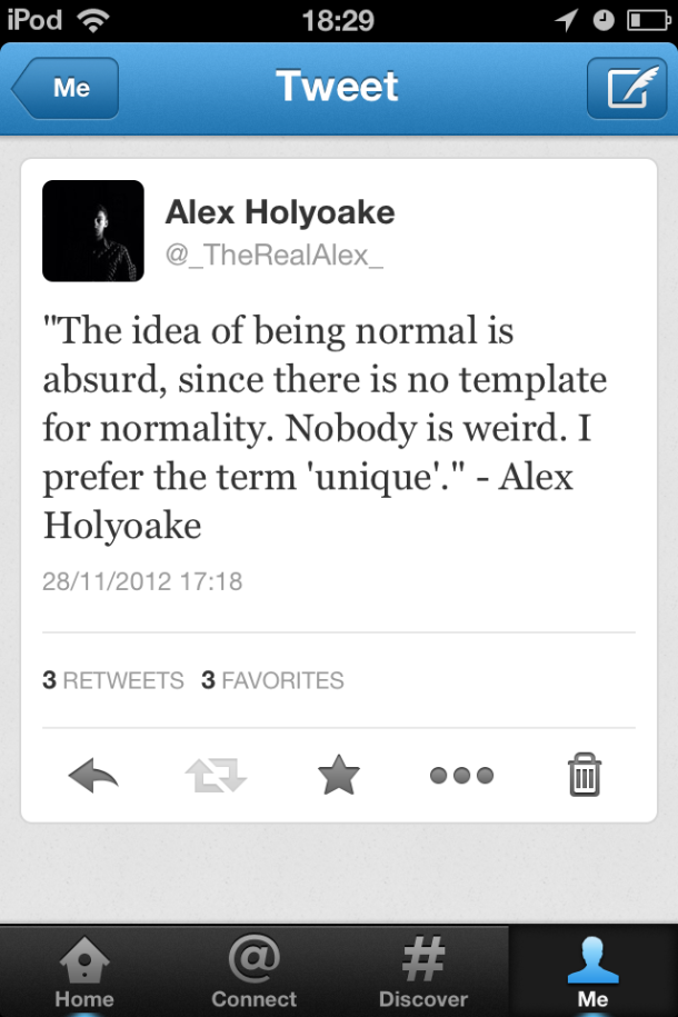 My 10,000th Tweet. Ingenious.